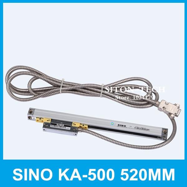 Free shipping SINO KA 500 520mm 5micron optical linear encoder KA500 0 005mm 520mm linear encoder