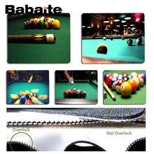 Babaite Vintage piscina genial Billard jugador jugar alfombrillas, esterilla para ratón tamaño 18x22cm 25x29cm de Mousemats
