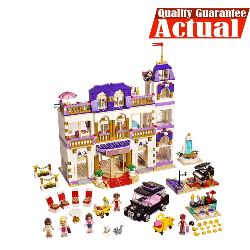 Здесь продается  LEPIN Girls Friends Heartlake Grand Hotel 01045 1676PCS Building Blocks Bricks toys for children gift brinquedo compatible 41101  Игрушки и Хобби