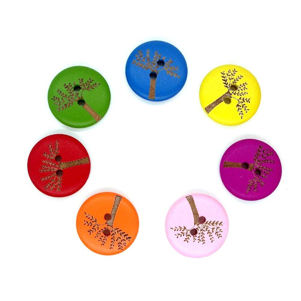 ⑧30 unids 2 agujeros Botones para costura Año Nuevo decorativo ...