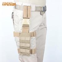Military Tactical Molle Drop Leg Thigh Loading Bear Platform