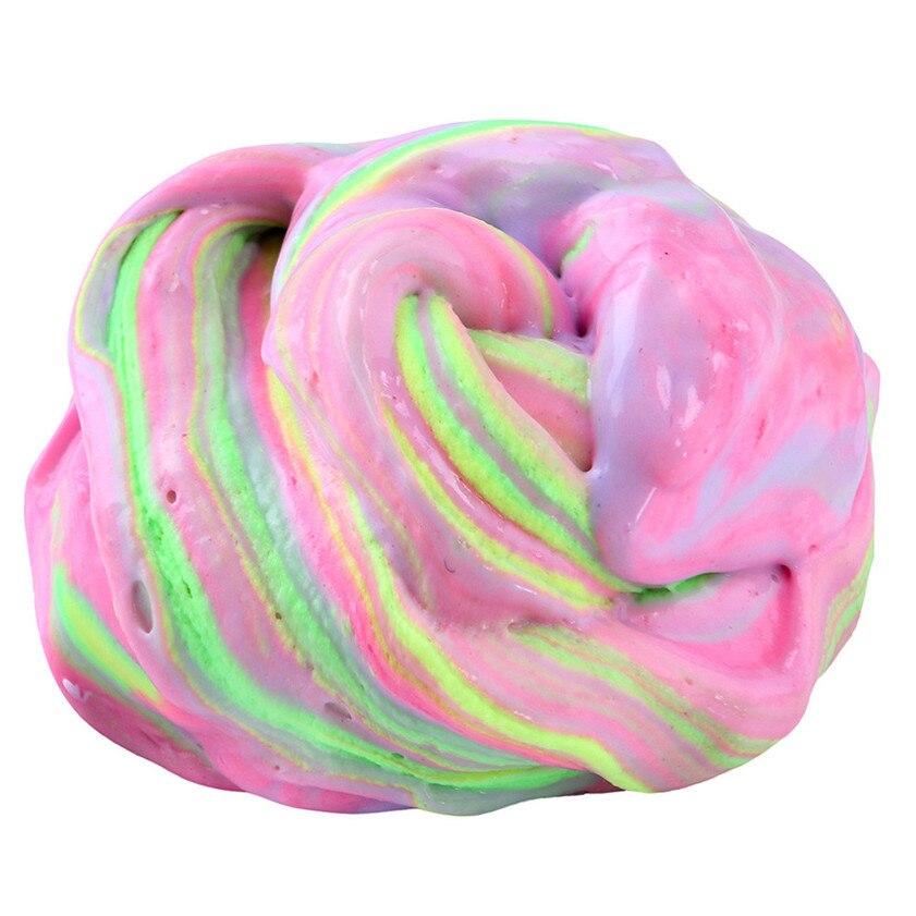 Zero 2017 B7727 дропшиппинг Новый Пушистый floam слизь Ароматические стресса без буры детские игрушки осадка игрушка