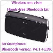 sun visor hands-free intercom system mini car-styling Bluetooth  Clip-on Wireless Bluetooth V4.1+EDR Music Receiver Wireless