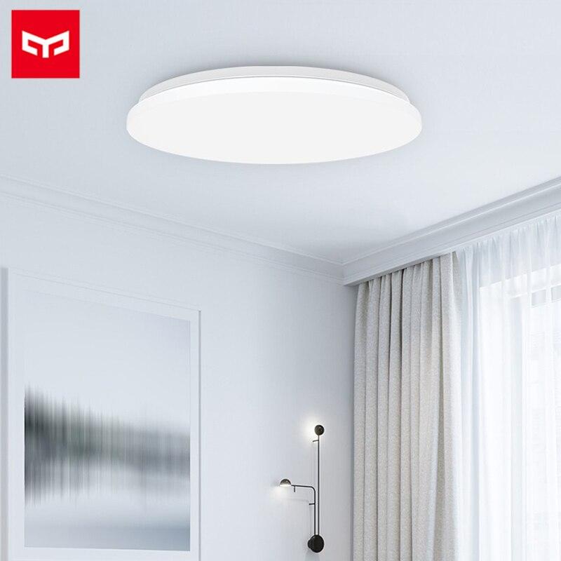 Original Yeelight Smart APP Remote Control LED Ceiling Lamp Xiaomi Mijia 34W 2200lm Lights Mi 480 Simple Round Bedroom Light