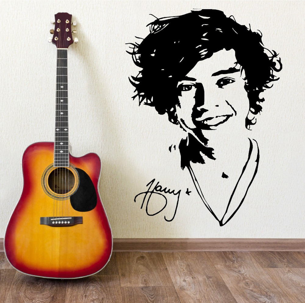 Mural ONE DIRECTION HARRY STYLES Wall Art Sticker Decal