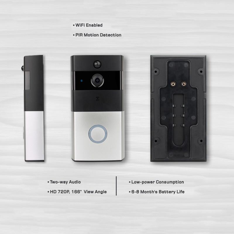 Digital door peephole viewer wireless door camera IP video door phone door bell viewer apartment door eye wireless