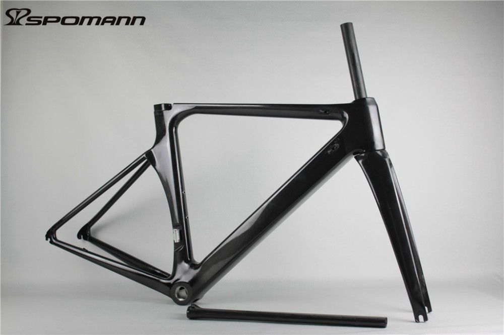 OEM Hot Selling Road Bike Frame Carbon Fiber Bicycle Track UD Black Frame Bicicleta Accessories