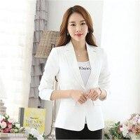 Women Blazers Candy Color Jacket New Women Blazer Spring Slim Brand European Style Elegant Autumn Fashion