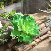 Artificial Flower Succulent Plant Christmas Wedding Home Decoration Background Wall Photography Green Fake Crate