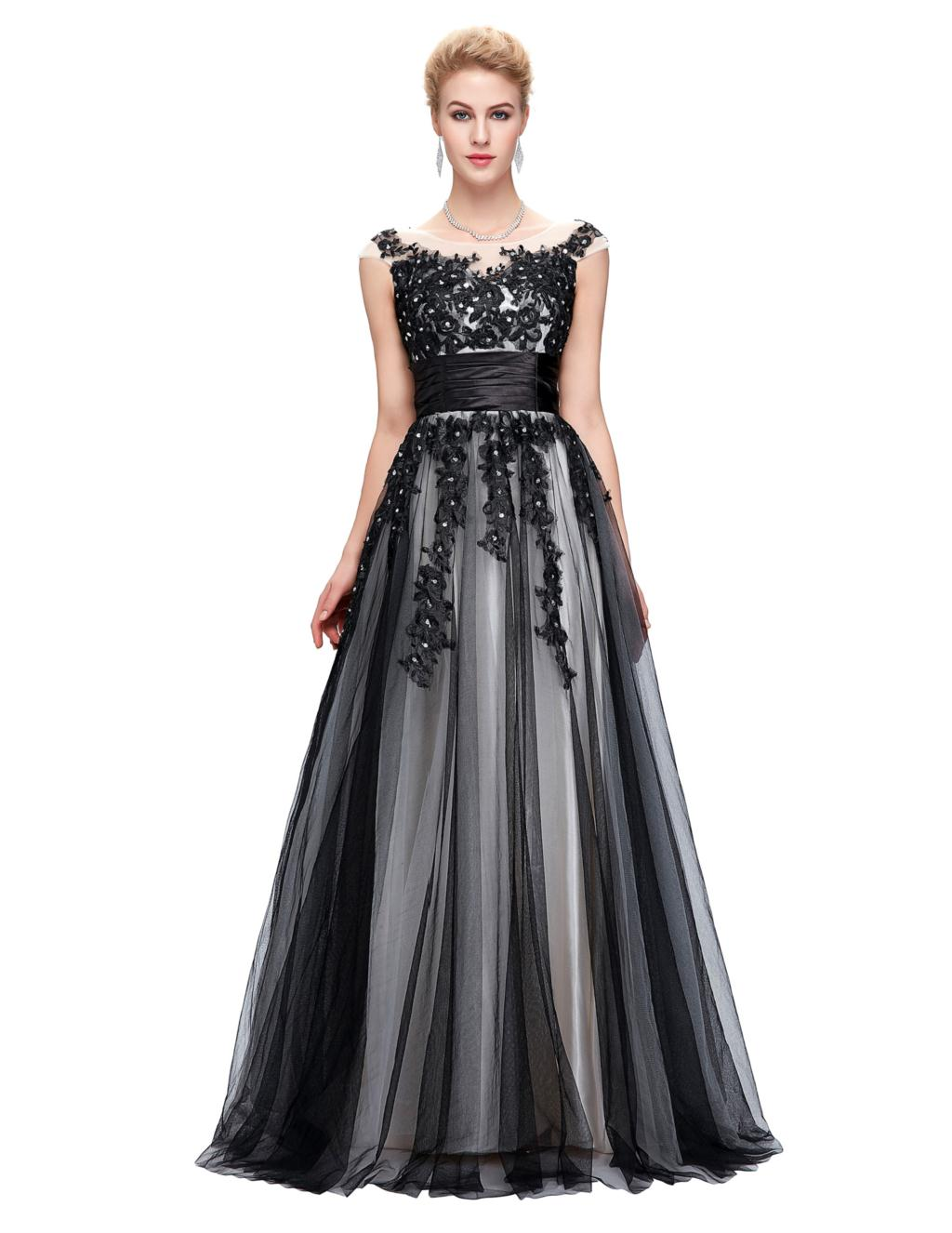 Elegant Lace Appliques Mother of the Bride Dress 3