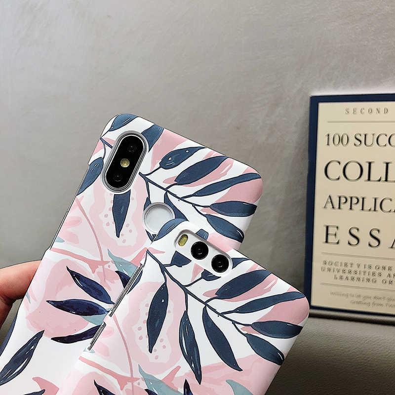 Чехлы для телефонов XIaomi 5X6 6X8 Lite 9 SE Note3 рельефный Матовый Жесткий чехол из поликарбоната для Redmi 5Plus 6 6Pro Note 4 4X5 7 A2Lite
