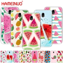 HAMEINUO Watermelon Melon cover phone case for Samsung Galaxy J3 J5 J7 2017 J527 J727 J327 J330 J530 J730 PRO