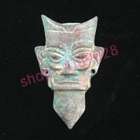 Ancient bronzes, Sanxingdui people, positive images, antiques Collectibles