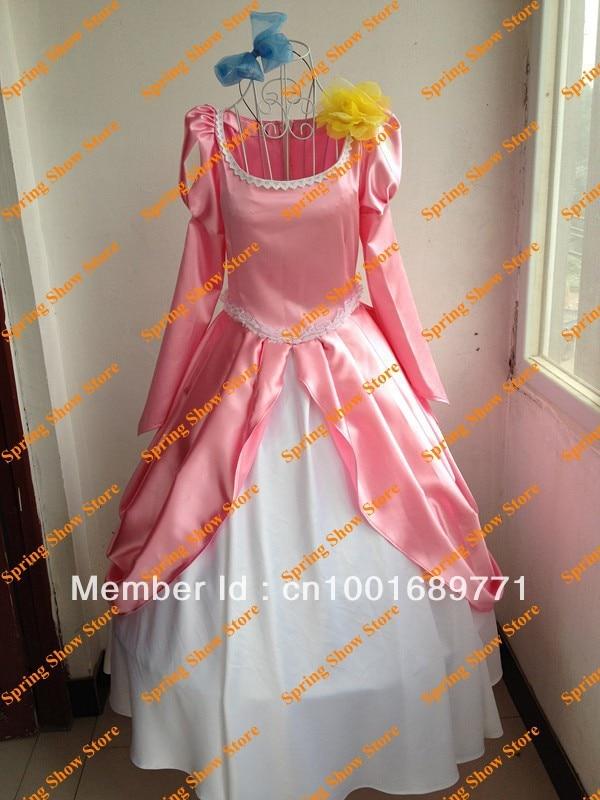 The Little Mermaid Heroine Princess Ariel Custom Ball Gowns Cosplay ...