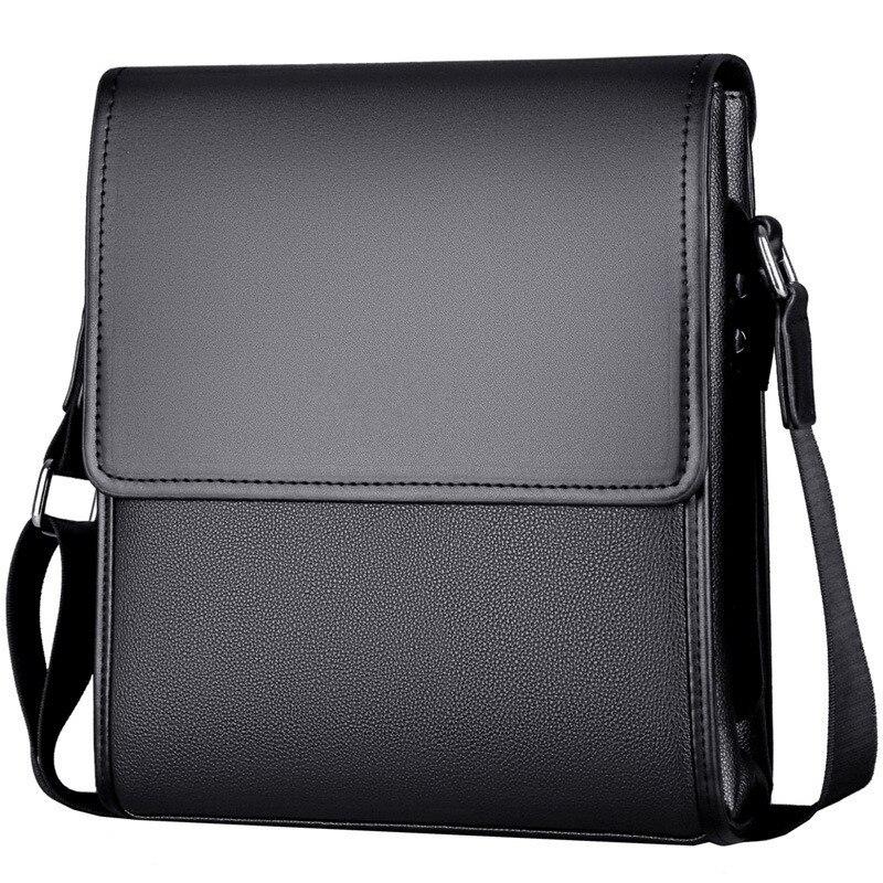 New Arrival Business Men Messenger Bags vintage Leather Crossbody Shoulder