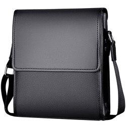 Nova chegada dos homens de negócios sacos do mensageiro do vintage couro crossbody bolsa de ombro para o sexo masculino marca casual homem bolsas moda sacos