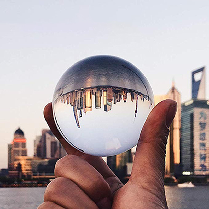 40mm/50mm/60mm/70mm/80mm/100mm/120mm K9 Clear Chandelier Crystal Glass Ball For Sphere Photography Decoration