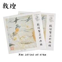 2 шт./лот dunhang профессиональный китайский традиционный музыкальный инструмент струны Пекине эрху строка гарантия качества