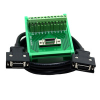 SCSI 26 Pins MR-J2CN1 Connectors Servo Terminal Blocks Board with one meter cable