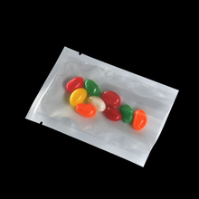 DHL Wholesale 7*10cm Small Open Top Plastic Packing Bags Heat Sealable Clear Front Package Bag Food Vacuum Storage 5000 Pcs