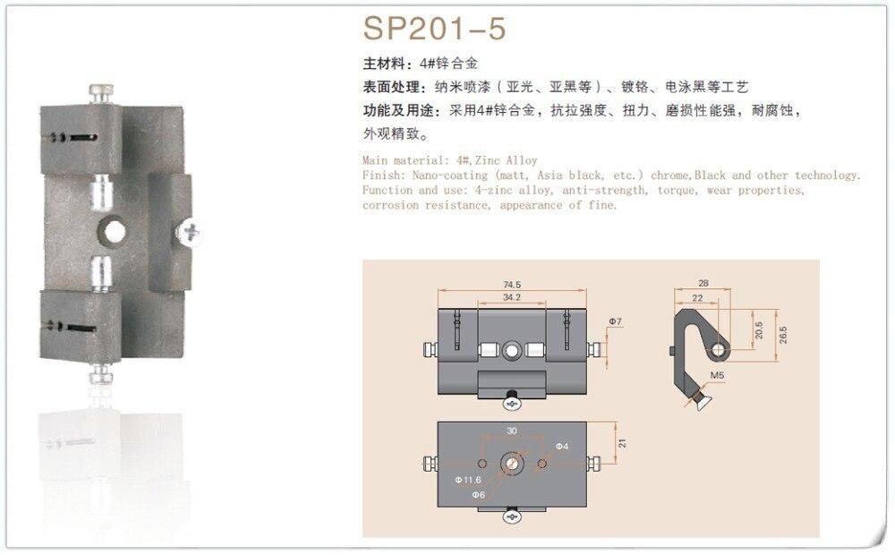 Saipwell SP201 5 zink legierung küchenschrank türe typen anti anti ...