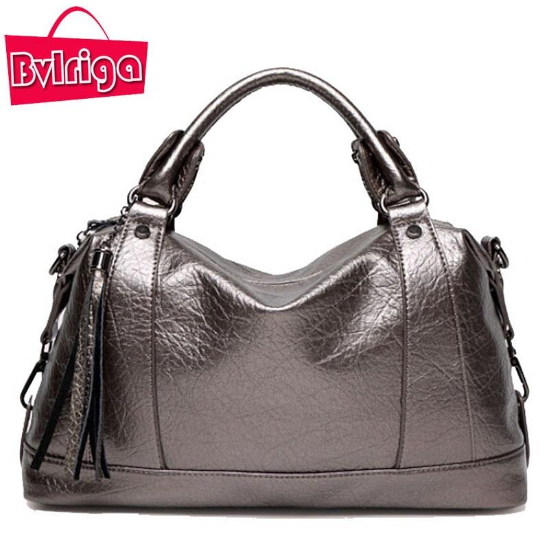 BVLRIGA Luxury Handbags Women Bags Designer Famous Brands Messenger Crossbody Shoulder Bag Women Leather Handbag Female Bag Big