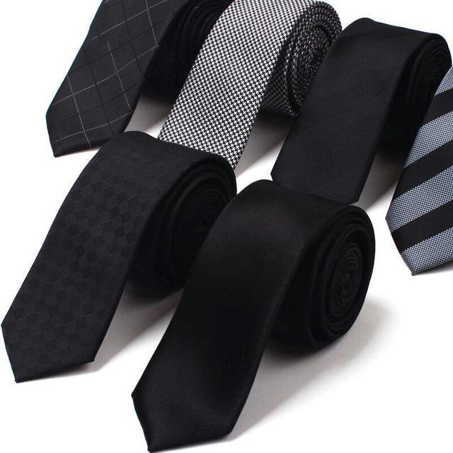2016 New Arrivals Mens Ties Gravata Fina Os Designers Da Marca de Seda Ocasional laços Para Homens Moda 5 cm Gravata Magro Gravatas Caixa de Presente dos homens