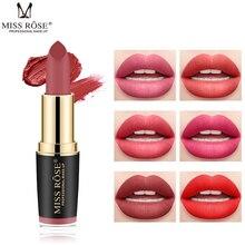 MISS ROSE Brand Matte Lipstick Waterproof Korean Cosmetics Makeup Batom Mate Lip Stick rouge a levre mat Tint