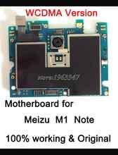 Work test one by one before shipping Original Motherboard For Meizu  M1 Note   Mainboard WCDMA  version With  Chip Logic Board