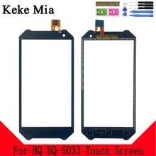 Keke Mia 5.0 New 5033 Touch Screen Digitizer For BQ Mobile BQ-5033 Shark Touchscreen Panel Glass Sensor Replacement