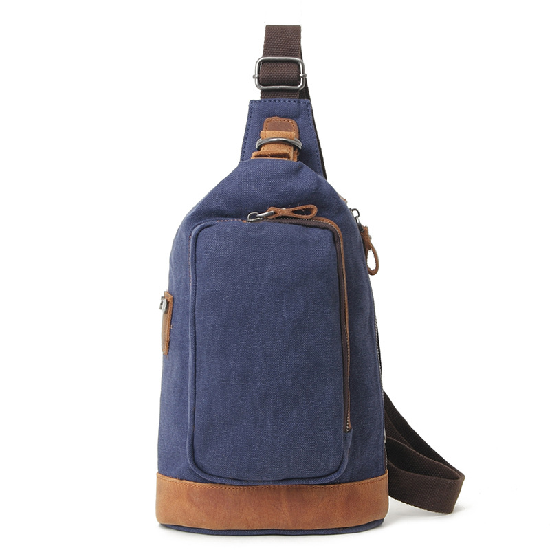 Hot Sale Multifunction Men's Chest Bag Canvas Shoulder Bag Men Casual Men's Messenger Chest Bag Crossbody Sling Bags Male H019 2017 new men canvas chest bag pack casual crossbody sling messenger bags vintage male travel shoulder bag bolsas tranvel borse