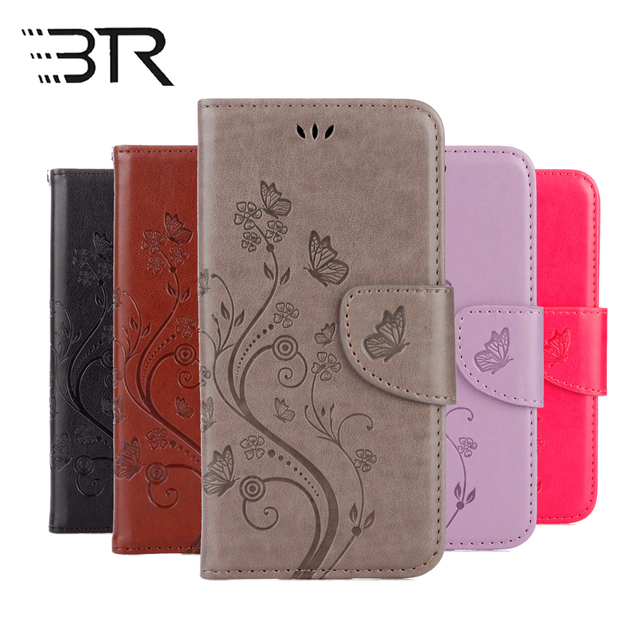 Phone Cases For Coque Samsung Galaxy A3 2017 A320F SM-A320FL SM-A320F Butterfly Leather Flip Cover case for Samsung A3 2017 capa