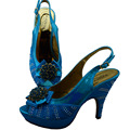 Italian design fashion women's shoes GF45-1 SKY BLUE