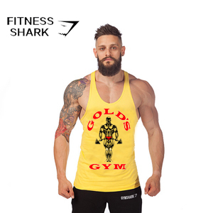 0afb85426 2015 camiseta de tirantes golds gym Cotton camiseta sin mangas men gym  shirt men musculo camisetas gym men Culturismo singlete-in Tank Tops from  Men s ...