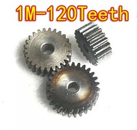 1.0m 120teeth  45- high-carbon steel metal tooth spur gear motor diy 7 -precision gear cutting deals