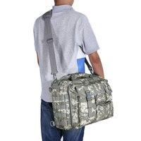 Outlife Açık Askeri Bilgisayar Omuz askılı çanta Çanta Evrak Çantası 14 inç Dizüstü Bilgisayar Kamera