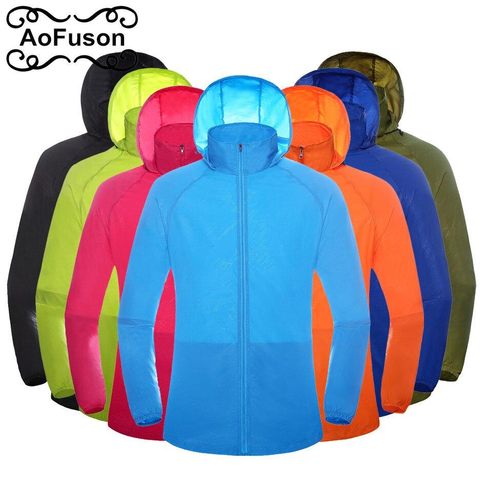 Unisex Outdoor Jacket Quick-dry Windproof Light-weight Waterproof Outdoor Sports Sun UV Protection Fishing Hiking Jacket 2019