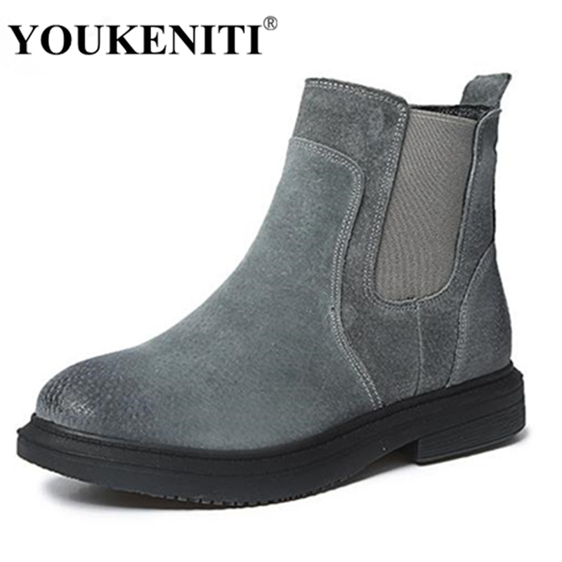 2018 Genuine Leather Women Martin Boots Winter Warm Shoes Botas Feminina Female Motorcycle Ankle Fashion Boots Women Botas Mujer e toy word boots women fashion autumn martin boots warm women shoes ankle boots for women winter botas mujer wedges ankle boots