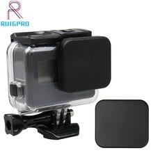 Lens Cap Waterproof Case Cover Caps Standard Protector For Go pro Hero 5 6 7 Black Camera Accessories