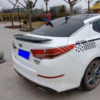 For Kia Optima K5 Spoiler High Quality ABS Material Car Rear Wing Primer Color Rear Spoiler For Kia Optima Spoiler 2011 2015