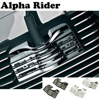 L/R FINNED SLEUFSCHROEVEN BOLT BOUGIE COVERS VOOR HARLEY TOURING ELECTRA STRAAT GLIJDERS ROAD KINGS 99-14 13 12 11 10 09 08 07 06