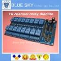 5 шт./лот 5 В/12 В RF4 16 Реле Канала Модуль Anti-помех Совет по Arduino PIC ARM DSP ПЛК С Оптрон Защиты