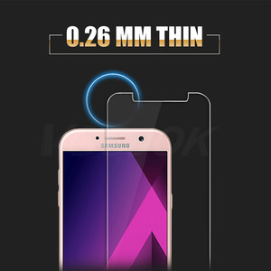 Image 4 - 9H Protection Glass On The For Samsung Galaxy A3 A5 A7 J3 J5 J7 2015 2016 2017 2018 Version Phone Screen Protector Glass Film