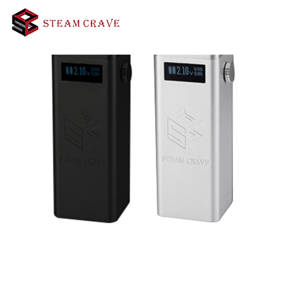 Steam Crave Titan PWM VV Box MOD with 300W Huge Output Fit Huge Tank From Diameter 30mm To 41mm No 18650 Battery Ecig Box Mod