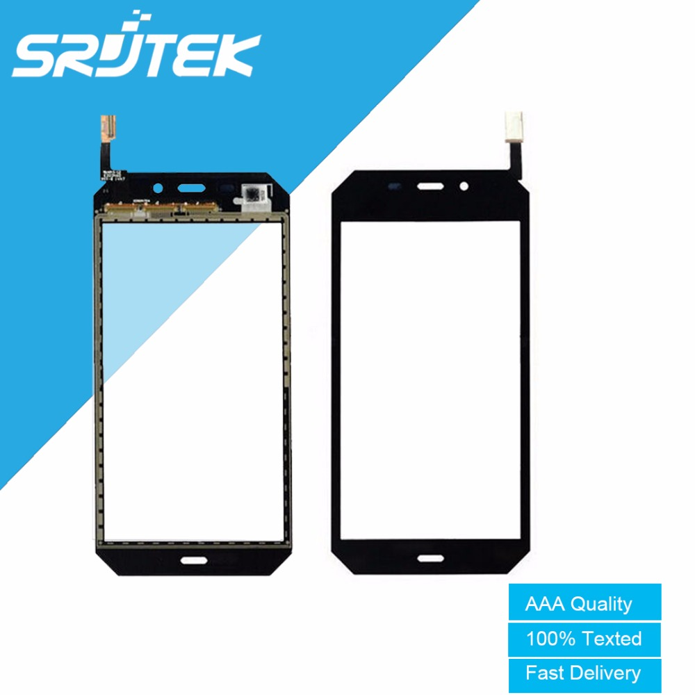 Black For Caterpillar CAT S50 Texted 4.5'' Touch Screen Panel Digitizer Sensor Replacement Parts For Caterpillar CAT S50 s50c touch screen digitizer for caterpillar cat b15 or b15q black free shipping