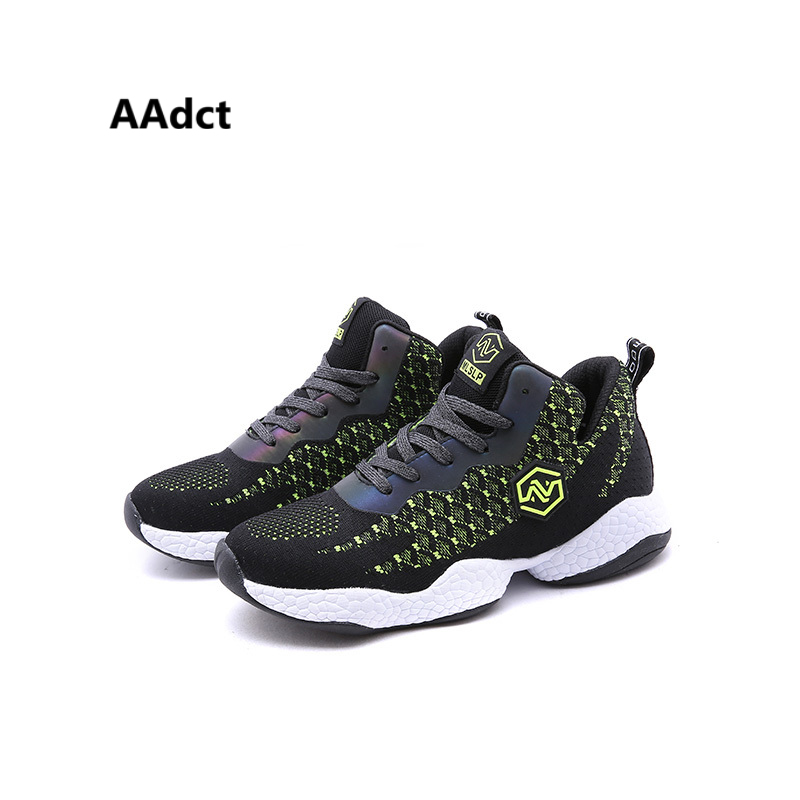 AAdct 2018 Autumn Mesh Breathable Casual sports children shoes Soft Running shoes foy Boys High quality Sneakers kids shoes aadct 2018 new spring autumn casual sports children shoes breathable leather shoes for girls boys soft sneakers kids shoes