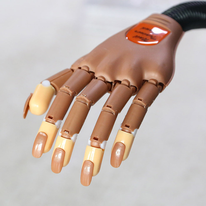 Useful Nail Trainer Training Practice Flexible Hand Personal-in Nail ...