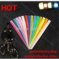 40 cm Engrosamiento peatones tiras de cinta reflectante Bicicleta de advertencia de Seguridad Bind Pierna/Brazo Correa de La Venda de accesorios de bicicleta de luz de La Noche