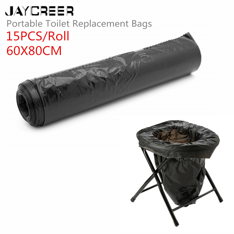 Willensstark Jaycreer Tragbare Toilette Ersatz Taschen 1 Kompostierbar Taschen Für Tragbare Toilette Stuhl Mobilitätshilfen