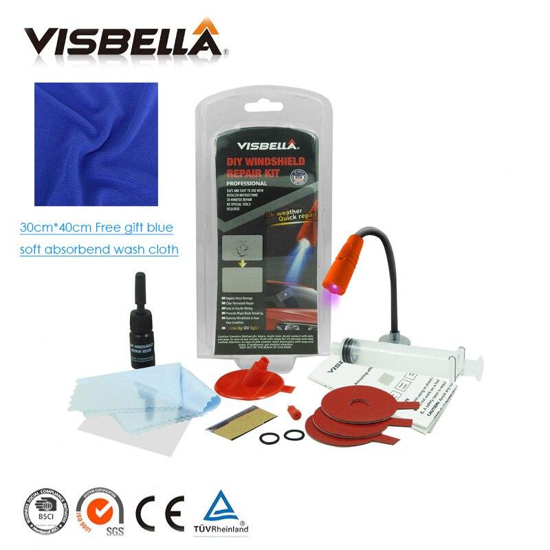 Visbella update Auto fenster reparatur Windschutz Glas renwal Werkzeuge Auto Windschutzscheibe Scratch Riss Wiederherstellung fenster Polieren Kit Pflege